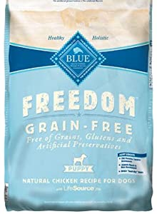 Blue Buffalo Freedom Grain Free Chicken Recipe Puppy Dry Dog Food, 24-Pound