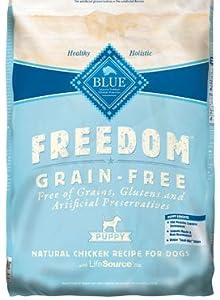 Blue Buffalo Freedom Grain Free Chicken Recipe Puppy Dry Dog Food, 24-Pound