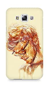 Amez designer printed 3d premium high quality back case cover for Samsung Galaxy E7 (I knew it moy print)