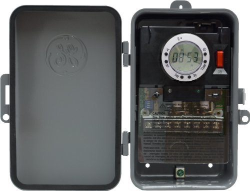 GE 7-Day On/Off Outdoor Metal Box Timer (120v Pool Heater compare prices)