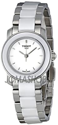 Tissot Women's T0642102201100 Cera Silver-Tone Ceramic Watch