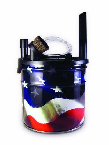 Dustless Technologies A1000 Bobcat Ash Separator, American Flag