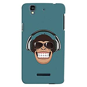 ColourCrust Micromax Yureka Plus Mobile Phone Back Cover With Music Lover Quirky Style - Durable Matte Finish Hard Plastic Slim Case