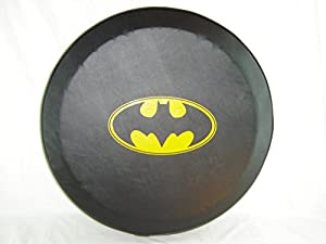 "SpareCover abc-bat-classic-27 ABC Series Black 27"" Tire Cover with Batman Classic Design at Gotham City Store"