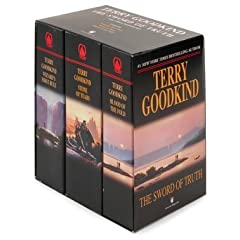 The Sword of Truth, Boxed Set I, Books 1-3: Wizard's First Rule, Blood of the Fold ,Stone of Tears by Terry Goodkind