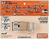 水道材料 カクダイ ガス栓用プラグ 【587-001】