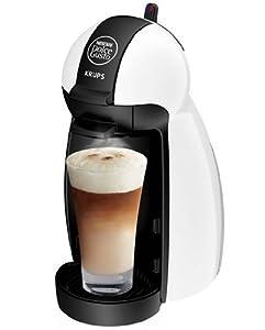 Krups Nescafé Dolce Gusto Piccolo - Cafetera de monodosis (15 bar), color crema
