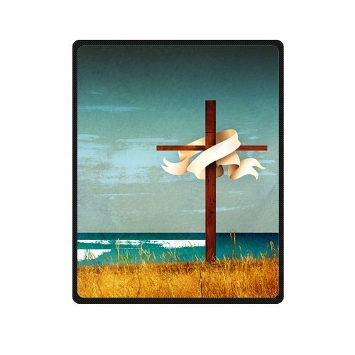 Personalized Fashion Power Of The Holy Cross Beautiful Scenery Picture Fleece Blanket 40 X 50 back-1071928