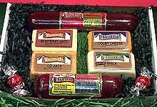 Bavaria Cheese & Sausage Gift Box 110 by Wisconsinmade