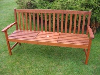 Sutton Hardwood 2 or 3 Seater Garden Bench With Table