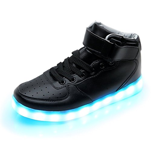 iTURBOS-Super-Nova-Mens-High-Top-Light-Up-LED-Shoes-Fashion-Sneakers