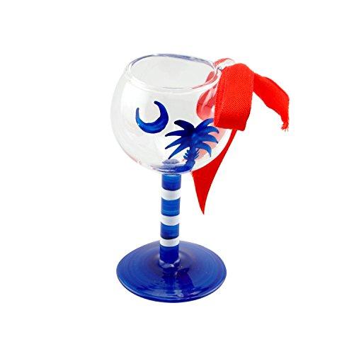 Palmetto Blue Moon X-mas Wine Ornament