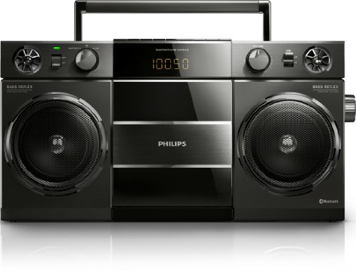 Philips Bluetooth Boombox - Black Black Friday & Cyber Monday 2014