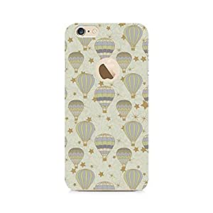 RAYITE Stars and Balloons Premium Printed Mobile Back Case For Apple iPhone 6/6s with hole