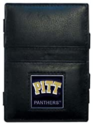 NCAA Pittsburgh Panthers Leather Jacob's Ladder Wallet