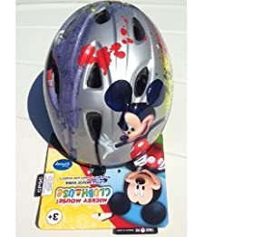 Mickey Mouse Toddler Bike Helmet by Little Mouse Rider