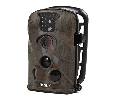 Bestok-12MP-Digital-Infrared-Night-Vision-Outdoor-IP54-Waterproof-Wildlife-Scouting-Stealth-Hunting-Spy-Surveillance-Security-Game-Cam-Trail-Camera-8GB-SD-Card