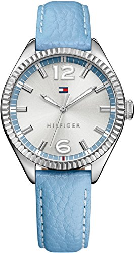 Tommy Hilfiger Damen-Armbanduhr Analog Quarz Leder 1781518 thumbnail