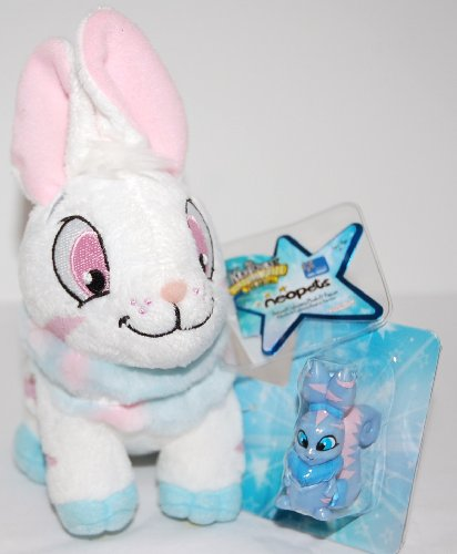 Buy Low Price Jakks Pacific Neopets Striped Cybunny Plush and Figure with Keyquest Code (B002OX3ASK)