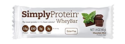 Simply Protein Whey Bars, 12 Count