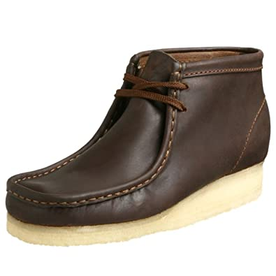 Clarks Originals Men's Wallabee Boot, Beeswax Leather, 8 M