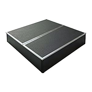 Control Acoustics Portable Stage with Rubber Diamond Mat Surface 4x4 feet