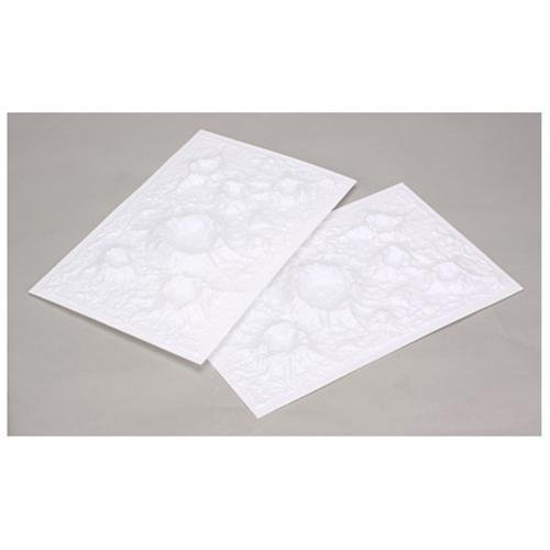 JTT Moon & War Craters Sheets 2-pack 7.5 x 12 inches - 1