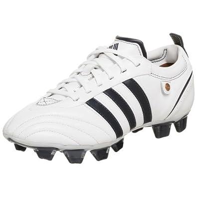 adidas Women's adiPURE TRX FG Soccer Cleat,White/Navy/Navy,5.5 M