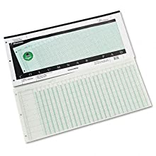 Wilson Jones Green Columnar Pad, 25 Columns, 41 Lines, 11 x 24.25 Inches, 50 Sheets per Pad (WG7225A)