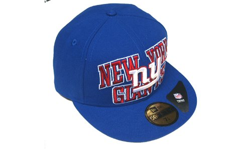 amazing price in stock beauty New Era NFL New York Giants Logo Stack 5950 Fitted Team Basecap ...