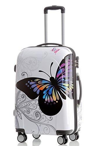 kofferset butterfly. Black Bedroom Furniture Sets. Home Design Ideas