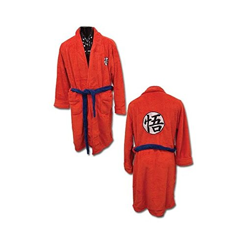 Dragon Ball Z Goku Uniform Bath Robe