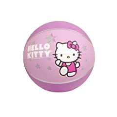Buy Hello Kitty Sports Mini Basketball, 7-Inch, Pink by Hello Kitty Sports