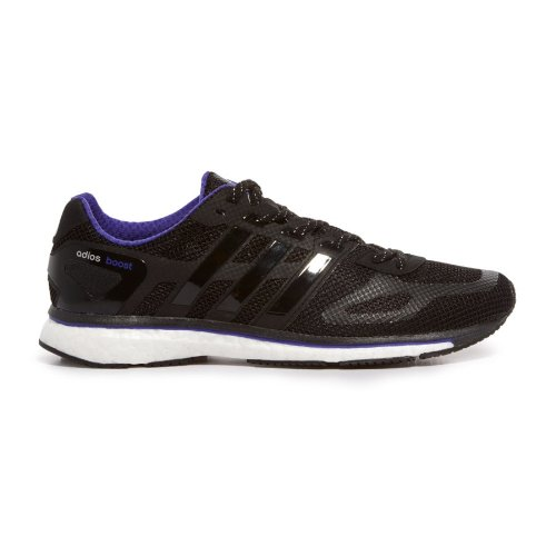 pretty nice 7a89c 286fe Feature of adidas Adizero Adios Boost Limited Women Running Shoes Black  BluPume D65717 SIZE 5 5