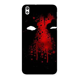 Red Horror Back Case Cover for HTC Desire 816