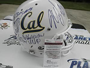 Marshawn Lynch Signed California CAL Berkley Golden Bears Full Size Custom White...