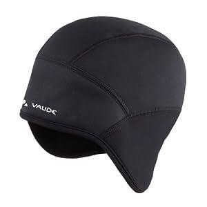 VAUDE Mütze Bike Windproof Cap III, Black, S, 03223