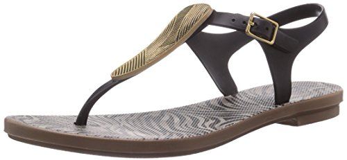Grendha Savannah Sandal, Sandali donna, Multicolore (Braun (Brown/Beige/Gold 23353)), 35/36