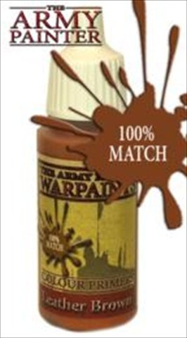 Army Painter WP1123 Warpaints - Leather Brown, 18 ml