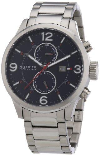 Tommy Hilfiger Watches Herren-Armbanduhr XL Analog Quarz Edelstahl 1790903 thumbnail