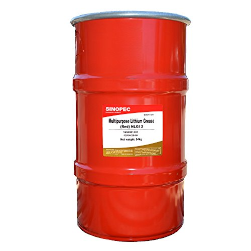 sinopec-multipurpose-lithium-grease-2-120-lb-16-gallon-keg-red