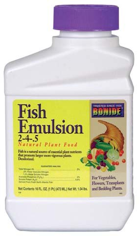 Bonide Fish Emulsion Plant Food, 16 oz.