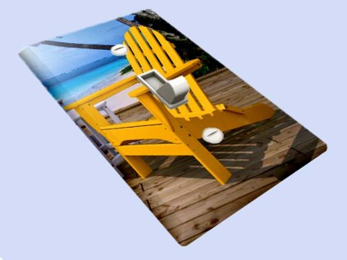 Beach Chairs Decorative Switchplate Cover