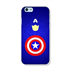 Whole Captain America Phone case for iPhone 6
