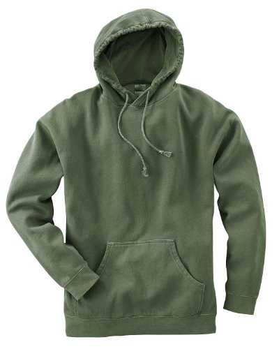 Authentic Pigment 80/20 Fleece Pullover Hood>2XL HEMP 1981