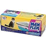 Max Flex Super Thick Cat Litter Box Liners (15 Pack)