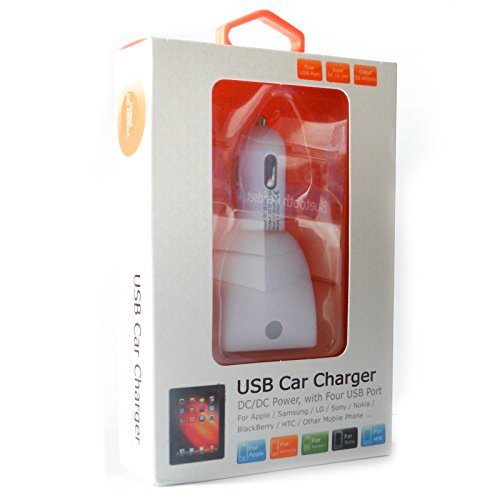 Sygtech-4-Port-USB-Car-Charger