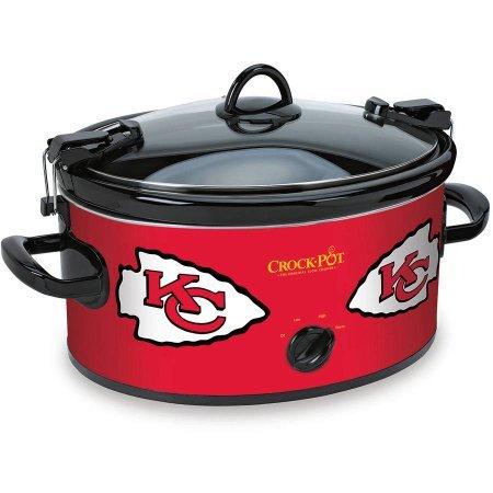 Crock-Pot NFL Slow Cooker, Kansas City Chiefs SCCPNFL600-KC (Green Bay Packer Crock Pot compare prices)
