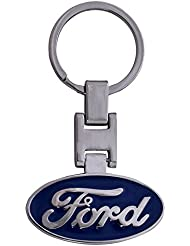 Techpro Premium Quality Metal Keychain With Ford Design