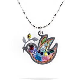 Petite Dove of Peace Necklace from the Artazia Collection #1024 JN NN